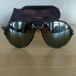 Tom Ford Jasper TF245 Sunglasses Gray